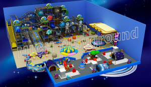 500sqm Space Themed Toddler Indoor Play Center